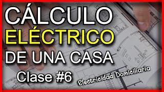Cómo hacer CÁLCULO ELÉCTRICO de una CASA parte 1 | CLASE #6 Curso de Electricidad COMPLETO screenshot 4