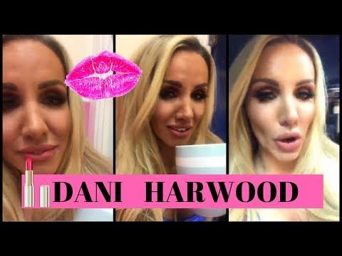dannii harwood gives a sneakpeek of her studio | instagram live 2017