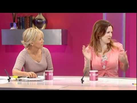 Debra Stephenson does impressions of Loose Women  22nd June 2011