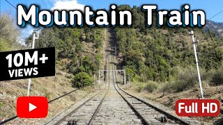 Mountain railway quot; vintage haulage trolley quot; ride from Joginder Nagar to Barot valley