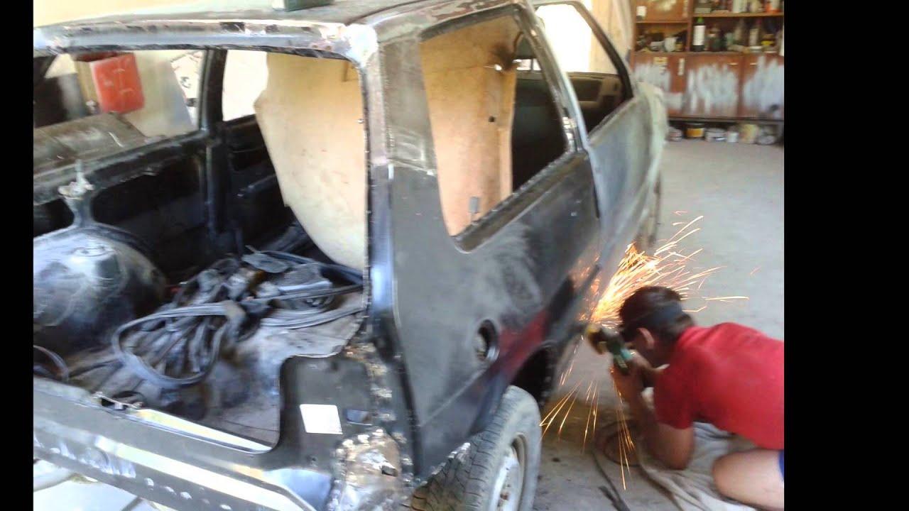 Большой ремонт маленького Fiat Uno..