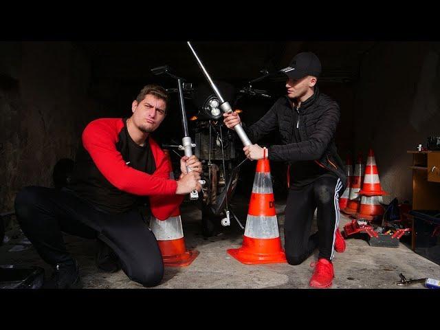 #PBL 6 : Des joints spi impossible a virer sur mon CBR 125 ! 🤯 ( porte de garage en pleine tête 😂)