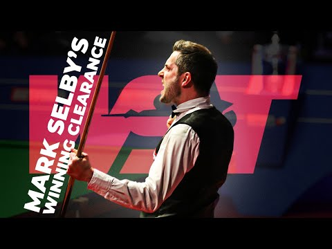 Mark Selby Wins Betfred World Championship | Clearance & Celebration