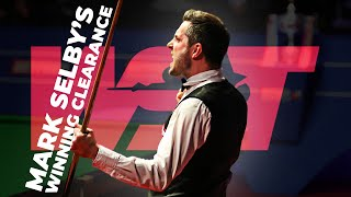 Mark Selby's World Champion Winning Clearance | Betfred World Championship