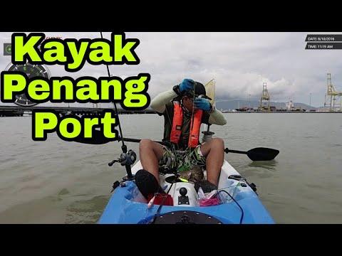 Kayak Fishing di Penang Port