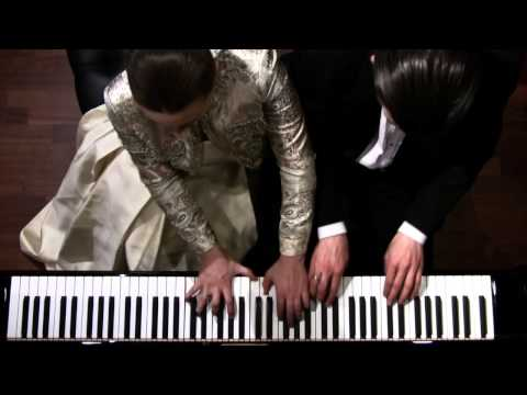 Maurice Ravel, La Valse - Piano Four Hands - Shelest Piano Duo