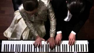 Maurice Ravel, La Valse - Piano Four Hands - Shelest Piano Duo