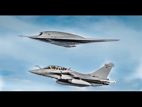 Dassault Rafale and Dassault Neuron UCAV Stealth Drone - 2017 Presentation