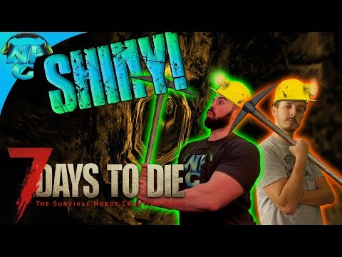 Steel Tools, OCD Mining for Bases and First World Crop Problems! 7 Days to Die E36