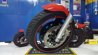 LR Motos - Revisão de Moto Concluída da Yamaha V-MAX 1200 Vermelha - 5420
