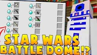 Minecraft OP STAR WARS MODDED BATTLEDOME CHALLENGE - Minecraft Mod