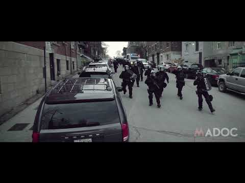 May Day 2018 - Montreal - Antifa protest capitalism