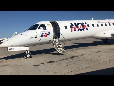 TRIP REPORT | LAM - MOZAMBIQUE AIRLINES | EMBRAER REGIONAL JET 145 | BEIRA TO HARARE