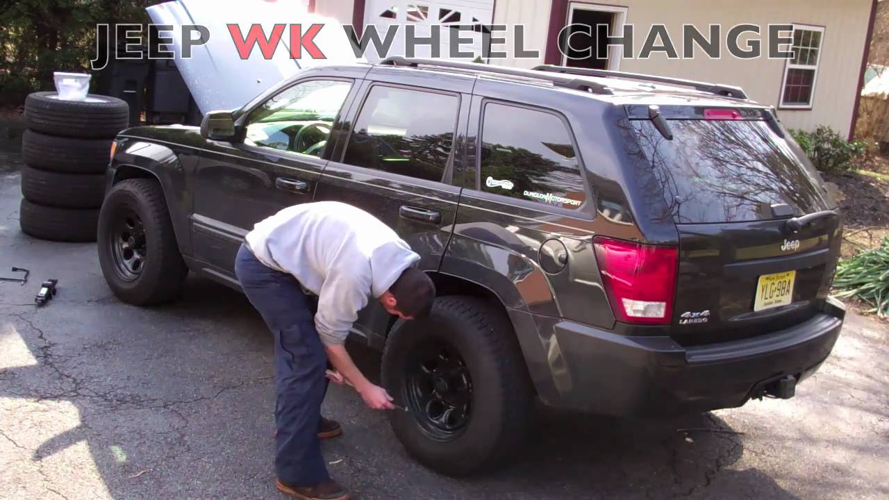 2005 - 2010 Jeep Grand Cherokee WK - Wheel Change / Swap ...