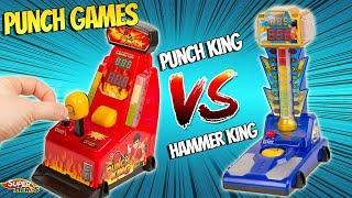 Punch Games: Je teste des mini jeux de fête foraine Hammer King Punch King Noel Giochi Preziosi