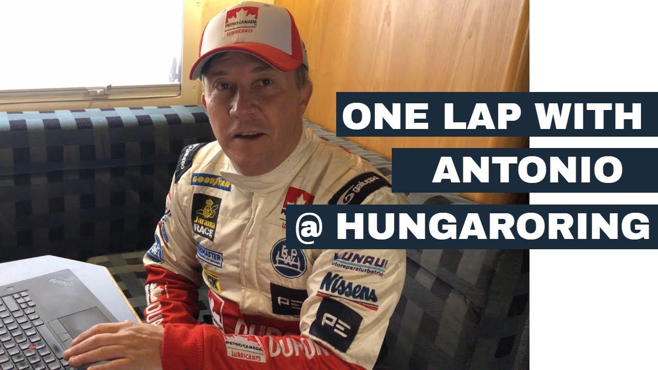 Onboard at Hungaroring with Antonio Albacete
