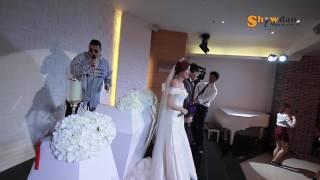 쇼단 환상적인 축가 퍼포먼스! 신랑신부도 놀람! 싸이 땡큐 k pop wedding ceremony