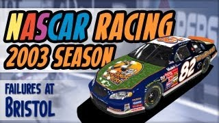Papyrus NASCAR Racing 2003 Season - Failures at Bristol