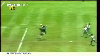 Diego Maradona est mort, la Main de Dieu n'est plus