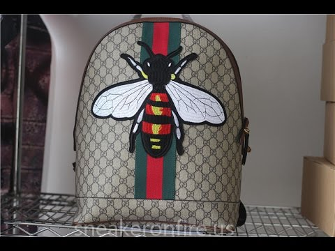 2ab78960414 Brand Bag Web Animalier backpack with bee from sneakeronfire.us ...
