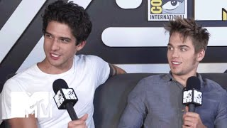 Tyler Posey Tells Who Gets Most Naked At A 'Teen Wolf' Party | Comic-Con 2015