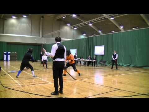 Helsinki Longsword Open 2016 - Men's Longsword final
