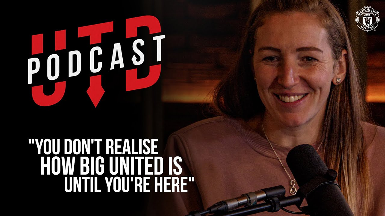 "UTD Podcast: Siobhan Chamberlain - ""You don't realise how big United is until you're here"" 