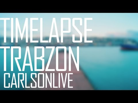TIMELAPSE — Заход в порт Трабзон | We go a port  Trabzon  General Cargo Ship