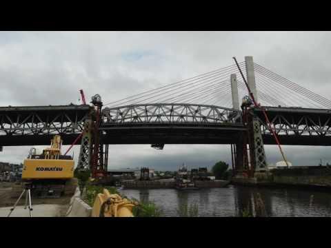 Lowering of the Original Kosciusko Bridge