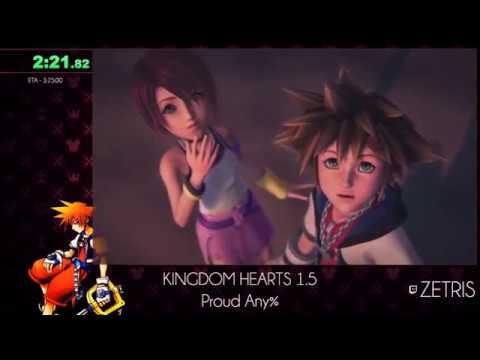 2017 Kingdom Hearts Marathon: KH Final Mix HD Proud Any% in 3:15:08 by Zetris