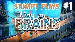 Stumpt Plays - Tiny Brains - #1 - Pinky and the Brain (4 Player Gameplay)