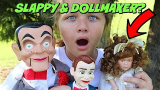 Slappys Back with CREEPY DOLL Attack of the Dummies Slappy Benson and Doll Maker Returns