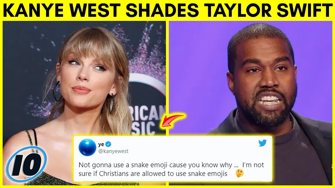 Kanye West throws shade at Taylor Swift during Twitter Rant