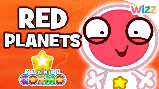 Planet Cosmo - Red Planets | Full Episodes | Wizz | Cartoons for Kids