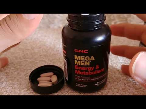 GNC MegaMan Energy & Metabolism Mulitvitamin For Men