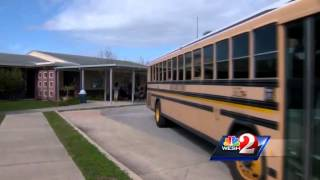 PD: Girls say bus monitor touched them innappropriately