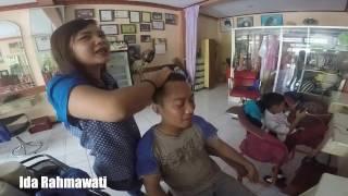Mrs Erva, World's Greatest Head Massage Barbershop - ASMR Massage Indonesia