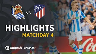 Highlights Real Sociedad vs Atletico Madrid (2-0)