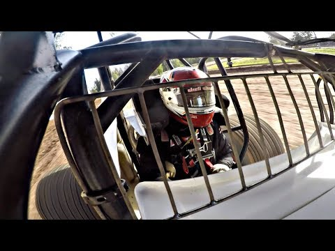 Bad Luck Strikes at the Cottage Grove Speedway... (360 Sprint Car)