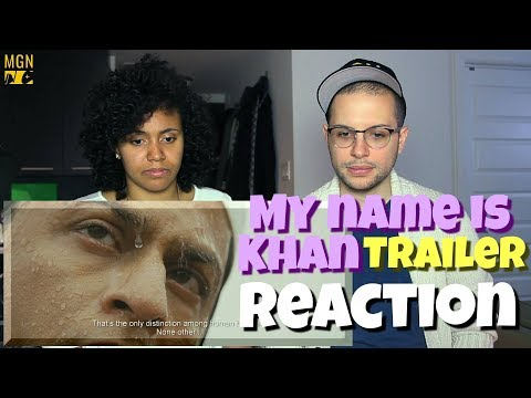 My Name Is Khan - Trailer | REACTION