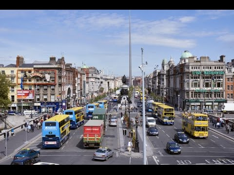Dublin City at Rush Hour
