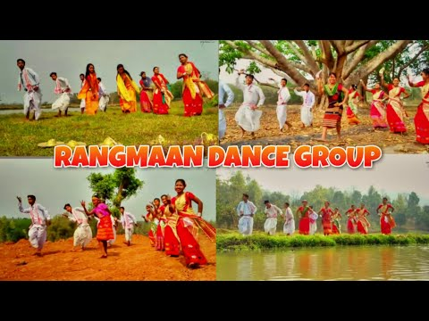 Assamese, Rabha, Boro, Garo, Hajong (MIX-DANCE) - RANGMAAN DANCE GROUP