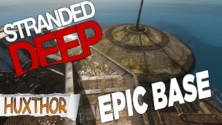 Stranded Deep Mods - Epic Ufo Island Sea Base!
