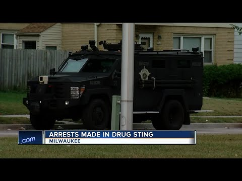 12 Milwaukee-area suspects charged with federal drug offenses