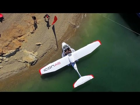 ICON A5 First Flight Impressions