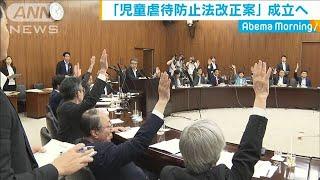 児童虐待防止法改正案 参院厚労委員会で可決(19/06/19)