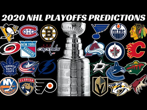 NHL 2020 Stanley Cup Playoffs Predictions (24 Team Format)