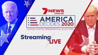 America Decides 2020: US Election LIVE results   7NEWS