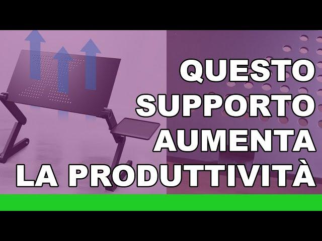 Aumentare la produttività con questo supporto (unboxing)