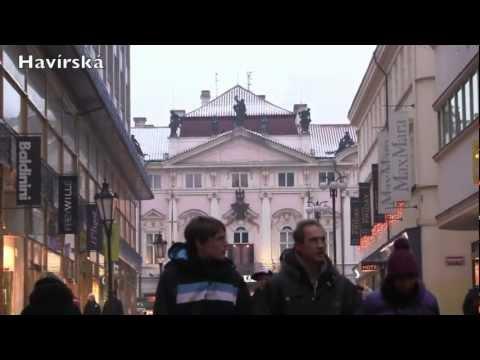 Christmas Time in Prague, Czech Republic - December 2012